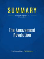The Amazement Revolution (Review and Analysis of Hyken's Book)