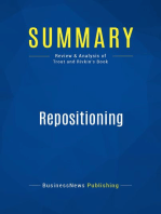 Repositioning (Review and Analysis of Trout and Rivkin's Book)