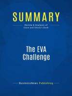 The EVA Challenge (Review and Analysis of Stern and Shiely's Book)
