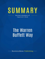 The Warren Buffett Way (Review and Analysis of Hagstrom's Book)