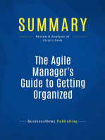 The Agile Manager's Guide to Getting Organized (Review and Analysis of Olson's Book)