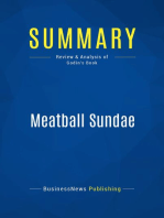 Meatball Sundae (Review and Analysis of Godin's Book)