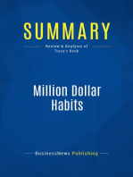 Million Dollar Habits (Review and Analysis of Tracy's Book)