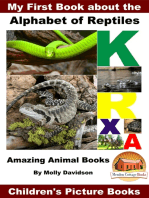My First Book about the Alphabet of Reptiles