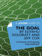 A Joosr Guide to... The Goal by Eliyahu Goldratt and Jeff Cox