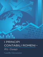 I Principi Contabili Romeni - Ro Gaap