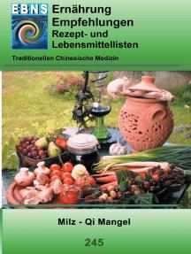 Milz - Qi Mangel: TCM-Ernährungsempfehlung - Milz - Qi Mangel