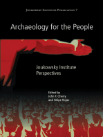 Archaeology for the People