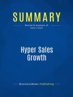 Hyper Sales Growth (Review and Analysis of Daly's Book)
