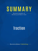 Traction (Review and Analysis of Weinberg and Mares' Book)