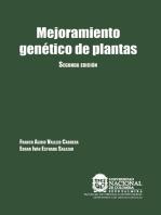 Mejoramiento genético de plantas: Segunda Edición