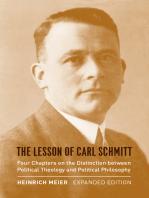 The Lesson of Carl Schmitt