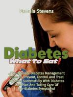 Diabetes What to Eat!