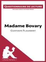 Madame Bovary de Gustave Flaubert (Questionnaire de lecture)