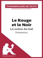 Le Rouge et le Noir de Stendhal - La scène du bal