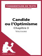 Candide ou l'Optimisme de Voltaire - Chapitre 3