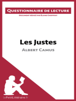 Les Justes d'Albert Camus