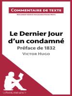 Le Dernier Jour d'un condamné de Victor Hugo - Préface de 1832