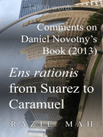 Comments on Daniel Novotny's Book (2013) Ens Rationis from Suarez to Caramuel