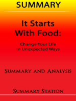 It Starts With Food | Summary