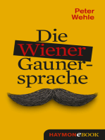 Die Wiener Gaunersprache