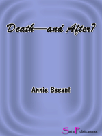 Death--and After?