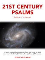 21st Century Psalms Volume One