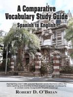 A Comparative Vocabulary Study Guide