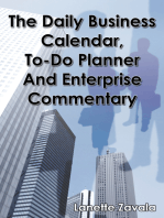The Daily Business Calendar, To-Do Planner, and Enterprise Commentary