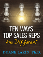 Ten Ways Top Sales Reps Are Different