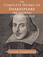 The Complete Works of Shakespeare (40 works) [Illustrated]