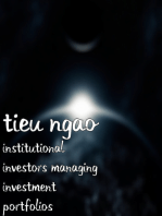 Institutional Investors Managing Investment Portfolios