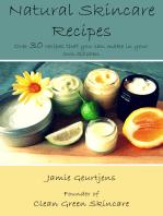 Natural Skincare Recipes