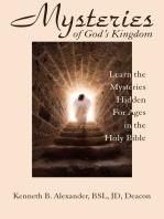 MYSTERIES OF GOD'S KINGDOM