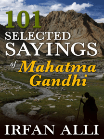 101 Selected Sayings of Mahatma Gandhi