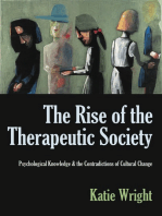 The Rise of the Therapeutic Society