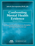 Confronting Mental Health Evidence
