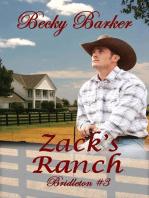Zack's Ranch: Bridleton, #3
