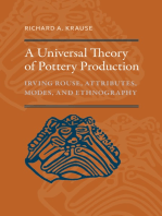 A Universal Theory of Pottery Production