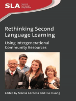 Rethinking Second Language Learning