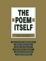The Poem Itself: 150 of the Finest Modern Poets in the Original Languages