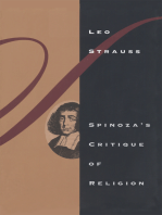 Spinoza's Critique of Religion