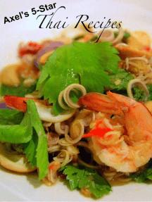 Axel's 5-star Thai Recipes
