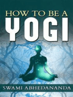 How to be a Yogi
