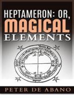 Heptameron: or, Magical Elements