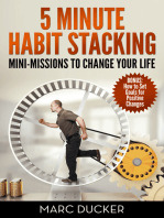 5 Minute Habit Stacking