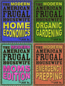 The Modern American Frugal Housewife Books #1-4: Complete Series