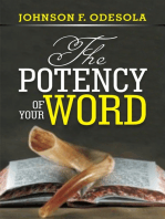 The Potency of Your Word