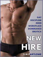 New Hire (Gay Discipline MMM Workplace Dominance Erotica)