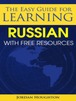 The Easy Guide for Learning Russian with Free Resources